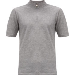 Iffley Road - Sidmouth Piqué T-shirt - Mens - Grey found on Bargain Bro India from MATCHESFASHION.COM - AU for $74.54