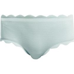 Marysia - Spring Scallop-edged Bikini Briefs - Womens - Light Blue found on Bargain Bro UK from Matches UK