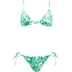 Eres - Starfish Coralsand-print Triangle Bikini - Womens - Green White found on MODAPINS from Matches UK for USD $375.98