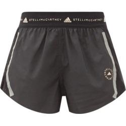 Adidas By Stella Mccartney - Truepace Mesh-insert Recycled Fibre-blend Shorts - Womens - Black found on Bargain Bro UK from Matches UK