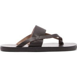 Ancient Greek Sandals - Zinon Leather Sandals - Mens - Dark Brown found on MODAPINS from Matches Global for USD $87.00