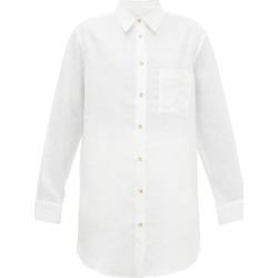 Asceno - Formentera Linen Shirt - Womens - White found on MODAPINS from Matches Global for USD $245.00