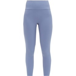 Vaara - Ria High-rise Cropped Leggings - Womens - Blue White found on Bargain Bro Philippines from MATCHESFASHION.COM - AU for $166.55