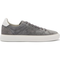 Brunello Cucinelli - Suede Trainers - Mens - Dark Grey found on Bargain Bro UK from Matches UK