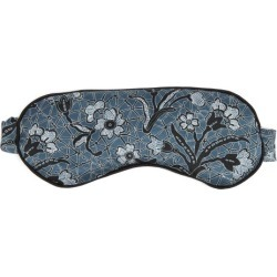 Morpho + Luna - Jemma Mirage-print Silk Eye Mask - Womens - Blue Multi found on Bargain Bro India from Matches Global for $116.00