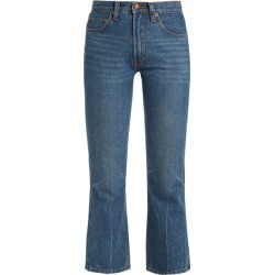 Bliss and Mischief - Jean bootcut raccourci coupe Cowboy found on MODAPINS from matchesfashion.com fr for USD $124.80