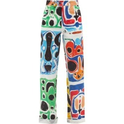 Charles Jeffrey Loverboy - Chromo-print High-rise Straight-leg Jeans - Womens - Multi found on Bargain Bro India from MATCHESFASHION.COM - AU for $495.22