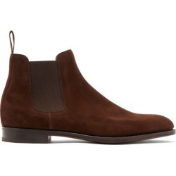 John Lobb - Bottes chelsea en daim Lawry found on Bargain Bro from matchesfashion.com fr for USD $1,541.28
