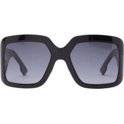 Dior Eyewear - Diorsolight2 Oversized Square Acetate Sunglasses - Womens - Black