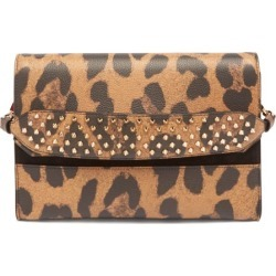 Christian Louboutin - Loubiblues Leopard-print Leather Clutch Bag - Womens - Leopard found on Bargain Bro Philippines from Matches Global for $2250.00