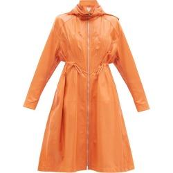 Bottega Veneta - Detachable Macramé-hood Leather Coat - Womens - Orange found on Bargain Bro UK from Matches UK