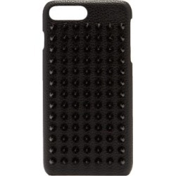 Christian Louboutin - Loubiphone Spike Leather Iphone® 7+/8+ Case - Mens - Black found on Bargain Bro UK from Matches UK