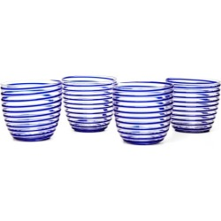 Yali Glass - Set Of Four Goto Tumblers - Blue found on Bargain Bro from Matches UK for £277