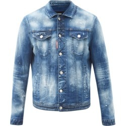 Dsquared2 - Dan Distressed Denim Jacket - Mens - Blue found on Bargain Bro UK from Matches UK
