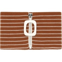 JW Anderson - Striped Merino-wool Neckband - Mens - Brown Multi found on MODAPINS from Matches UK for USD $164.00