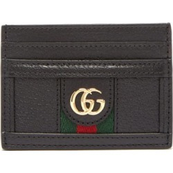 Gucci - Ophidia Gg-plaque Leather Cardholder - Womens - Black found on Bargain Bro Philippines from Matches Global for $290.00