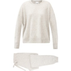 Allude - Cashmere Lounge Set - Womens - Light Grey found on Bargain Bro UK from Matches UK