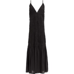 Mara Hoffman - Keira Shirred Modal Maxi Dress - Womens - Black found on MODAPINS from Matches UK for USD $452.34