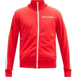 Palm Angels - Logo-print Jersey Track Jacket - Mens - Red found on Bargain Bro UK from Matches UK
