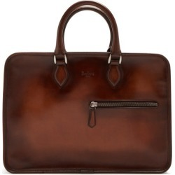 Berluti - Un Jour Leather Briefcase - Mens - Brown found on MODAPINS from MATCHESFASHION.COM - AU for USD $3086.97