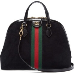 9e2bd25876d Gucci - Ophidia Suede Tote Bag - Womens - Black Multi found on MODAPINS  from Matches