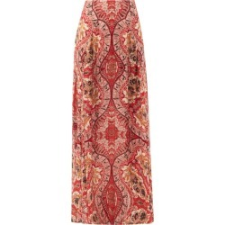 Etro - Paisley-print Crepe Maxi Skirt - Womens - Red Multi found on Bargain Bro UK from Matches UK