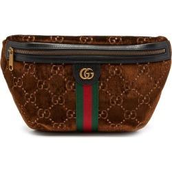 Gucci - GG Logo Velvet Cross-body Bag - Mens - Brown Multi found on Bargain Bro UK from Matches UK