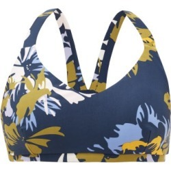 The Upside - Kauai Floral-print Low-impact Sports Bra - Womens - Navy Multi found on Bargain Bro Philippines from MATCHESFASHION.COM - AU for $52.14