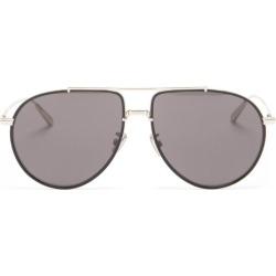 Dior - Blacksuit Aviator Metal Sunglasses - Mens - Black Silver found on Bargain Bro UK from Matches UK