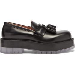 Bottega Veneta - The Stilt Tasselled Platform Leather Loafers - Mens - Black found on Bargain Bro UK from Matches UK