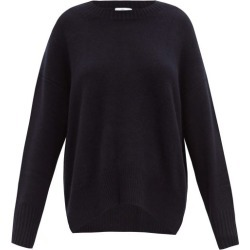 Allude - Side Hem Slit Cashmere Sweater - Womens - Navy found on MODAPINS from Matches UK for USD $484.97