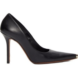 Vetements - Toe-cap Leather Pumps - Womens - Black found on MODAPINS from Matches Global for USD $384.00