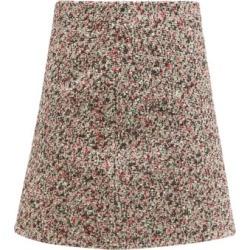Bottega Veneta - Tailored Cotton-bouclé Skirt - Womens - Brown Multi found on Bargain Bro UK from Matches UK