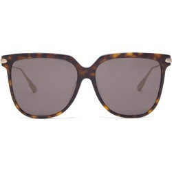 Dior Eyewear - Diorlink D-frame Tortoiseshell-acetate Sunglasses - Womens - Tortoiseshell found on Bargain Bro UK from Matches UK
