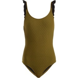 Made By Dawn - Petal Swimsuit - Womens - Green found on Bargain Bro UK from Matches UK