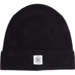 Reigning Champ - Logo-patch Ribbed-wool Beanie - Mens - Navy found on Bargain Bro India from MATCHESFASHION.COM - AU for $29.91