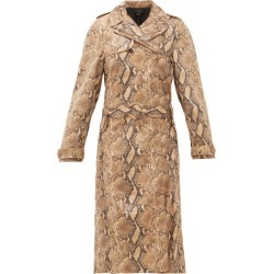 Ellery - Trench-coat façon peau de serpent Spectrum found on Bargain Bro India from matchesfashion.com fr for $1014.00