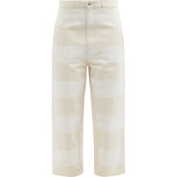 Marni - Brushstroke Stripe-print Wide-leg Jeans - Womens - Ivory found on Bargain Bro UK from Matches UK