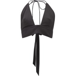 Kalita - Plato Tie-back Halterneck Cotton Top - Womens - Black found on MODAPINS from Matches UK for USD $159.15