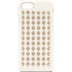 Christian Louboutin - Loubiphone Leather Iphone® 7 & 8 Case - Womens - White Silver found on Bargain Bro UK from Matches UK
