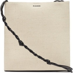 Jil Sander - Tangle Large Canvas Shoulder Bag - Womens - Ivory Multi found on Bargain Bro UK from Matches UK