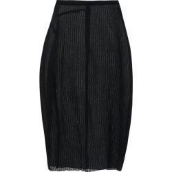 Jil Sander - Plissé-jersey Midi Skirt - Womens - Black found on Bargain Bro UK from Matches UK