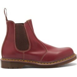 Dr. Martens - 2976 Leather Chelsea Boots - Mens - Burgundy found on MODAPINS from Matches UK for USD $262.81