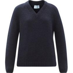 Prada - V-neck Mohair-blend Sweater - Womens - Navy found on Bargain Bro UK from Matches UK