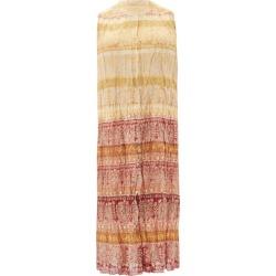 Mes Demoiselles - Banjara Sleeveless Printed Cotton-blend Dress - Womens - Orange Multi found on MODAPINS from MATCHESFASHION.COM - AU for USD $404.67