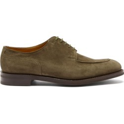 John Lobb - Harlyn Suede Derby Shoes - Mens - Dark Green found on MODAPINS from Matches UK for USD $1585.31
