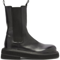 Marsèll - Bottes chelsea en cuir à semelle oversize found on Bargain Bro Philippines from matchesfashion.com fr for $1264.90