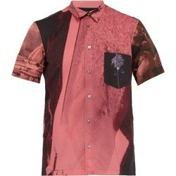 Paul Smith - Photo-print Short-sleeve Cotton Shirt - Mens - Pink found on Bargain Bro UK from Matches UK