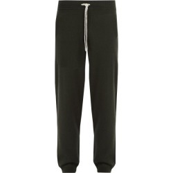 Allude - Drawstring Wool Blend Track Pants - Mens - Khaki found on MODAPINS from Matches Global for USD $385.00