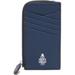 Mark Cross - Zipped Grained-leather Cardholder - Mens - Navy found on Bargain Bro Philippines from Matches Global for $390.00